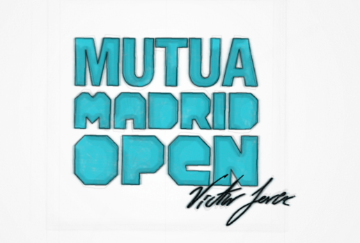 VICTOR JEREZ en el Mutua Madrid Open (Video)