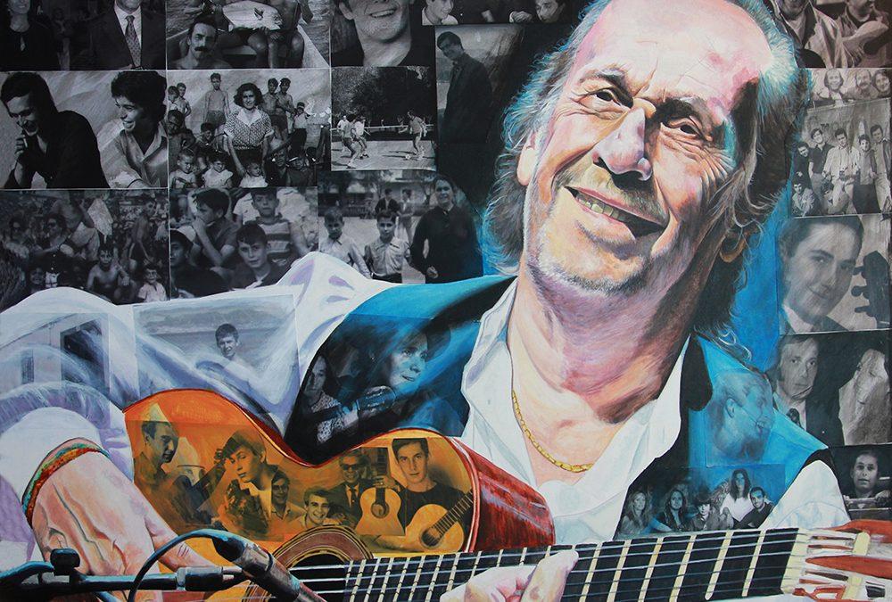 El artista knowmad Víctor Jerez homenajea a Paco de Lucía en la exposición «Fulgor Stellae»