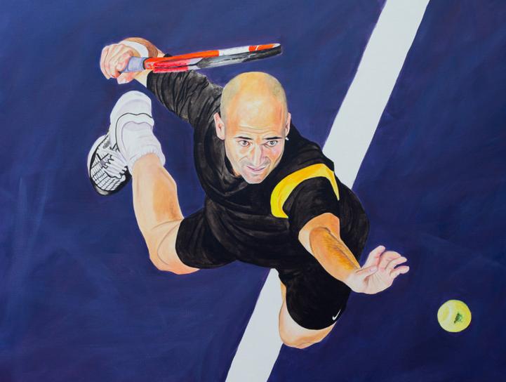 Cuando el tenis se convierte en arte