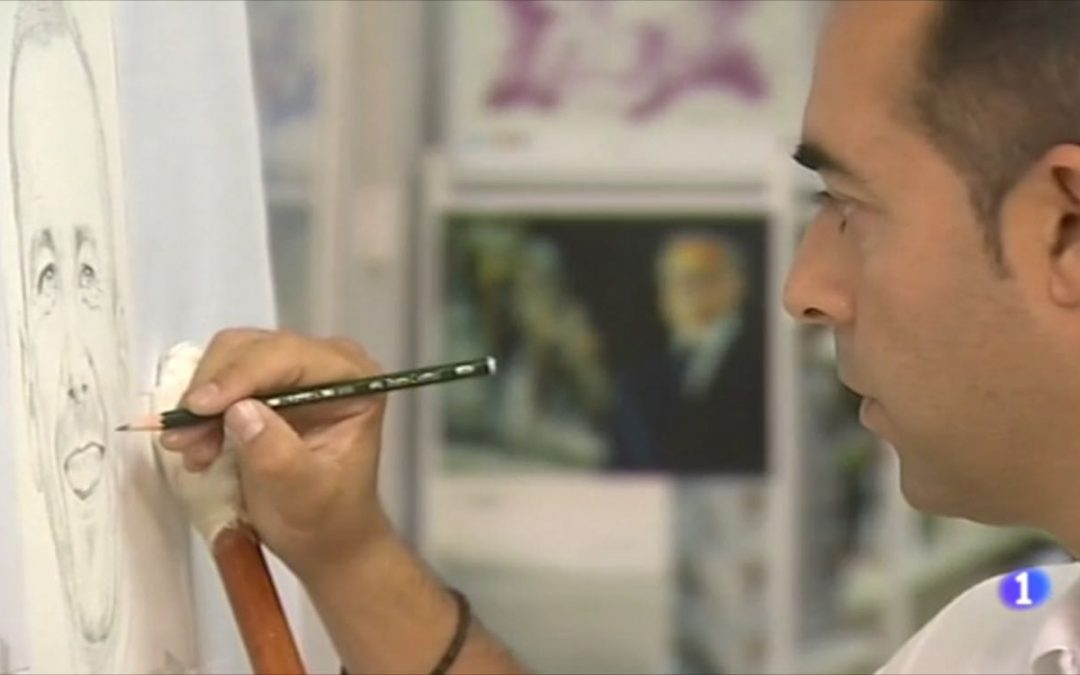 """Victor Jerez, """"El Pintor de los Deportistas"""" en TVE"""