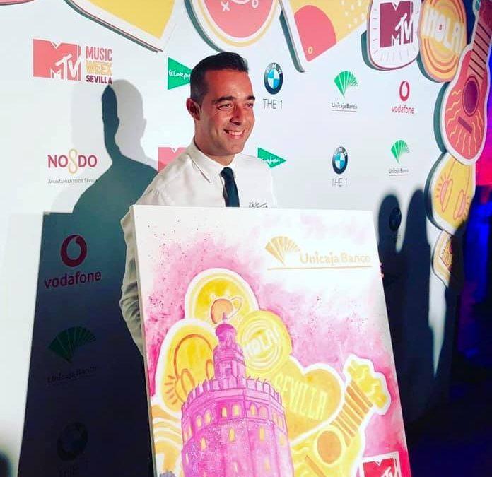 Victor Jerez presente en la MTV Music Week