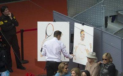 Víctor Jerez conquista el Madrid Open pintando a las estrellas