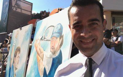 El español que ha llegado a la final del Genève Open de Tenis, Víctor Jerez.