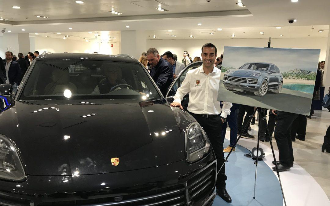 Víctor Jerez embajador de marca del nuevo Porsche Cayenne gracias a ARK Architects
