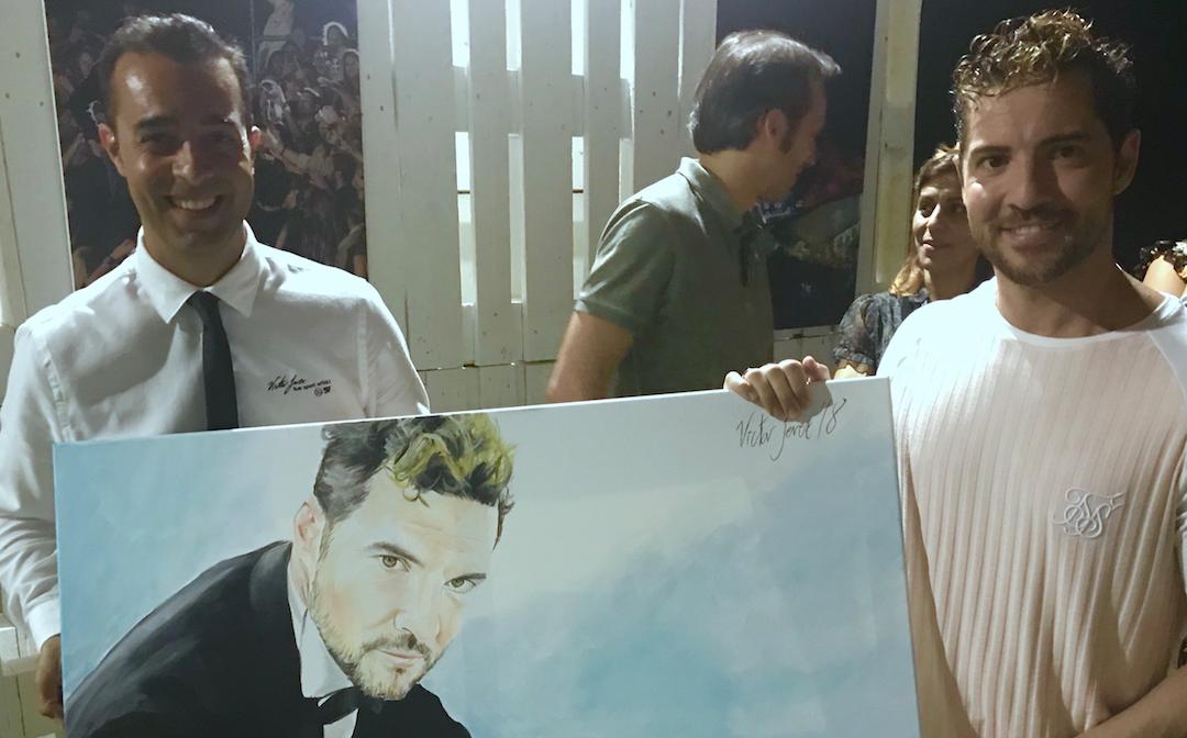David Bisbal y Víctor Jerez, dos artistas muy knowmads en el festival internacional Starlite en Marbella