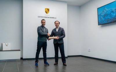 Víctor Jerez, embajador del Centro Porsche Marbella